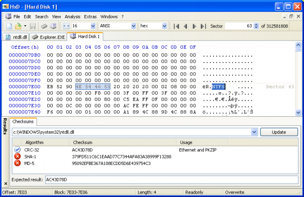 HxD Hex Editor 1.7.7.0 Free Download