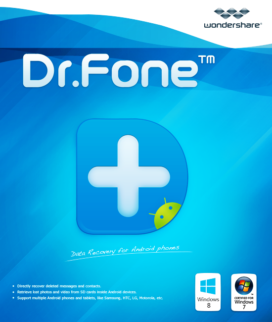 Wondershare Dr.Fone for Android 8.2.6 Crack + Key Free Download
